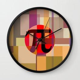 Geometric Pi  Wall Clock