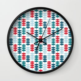 Joy collection - Red leaves Wall Clock