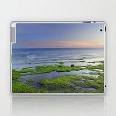 Green and blue. Sunset Laptop & iPad Skin
