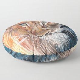 Celestial Lion Floor Pillow