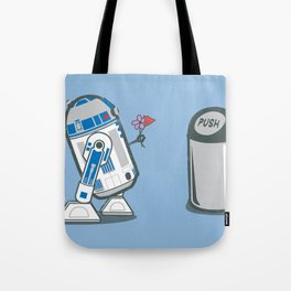 Robot Crush Tote Bag