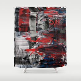 Smile in the Storm Shower Curtain