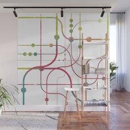 Line x Line-BubblegumPop-B Wall Mural