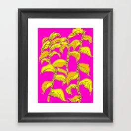 Tropical Plant Framed Art Print