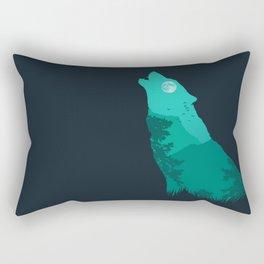 The Sound Of Nature Rectangular Pillow