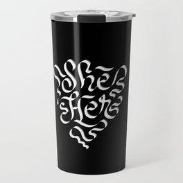 She/Her Travel Mug
