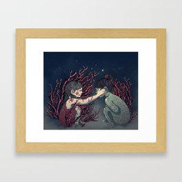Bloody Valentine Framed Art Print