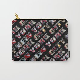 New York City (typography diagonal) Carry-All Pouch