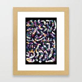 Pattern № 40 Framed Art Print