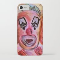 clown iPhone & iPod Cases featuring Clown by Digital-Art