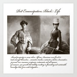 Post Emancipation Success Art Print
