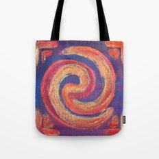 Circle of Fire Tote Bag
