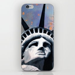 Welcome to New York Statue of Liberty iPhone Skin
