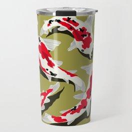 Koi Carp Zen Travel Mug