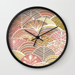 Harvest Moon Wall Clock