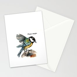 Parus Major Stationery Cards
