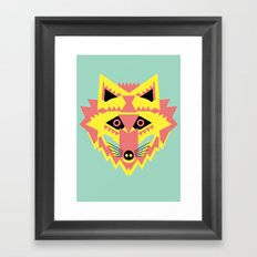 Fabulous Fox Framed Art Print