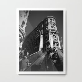 Subway to the City Metal Print