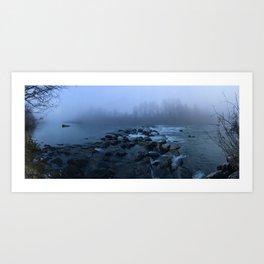Strangers in the Mist Art Print