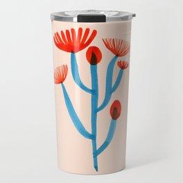 Blooming Cactus Travel Mug