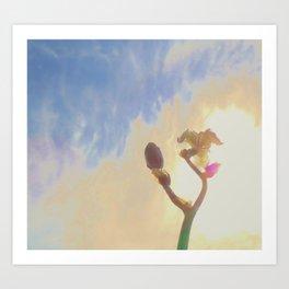 Iris410b Art Print