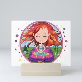 Meditation Om Zen Mini Art Print