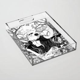 Nature goddess original Acrylic Tray