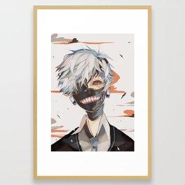 tokyo ghoul print Framed Art Print