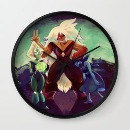 Homeworld Gems Wall Clock