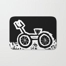 Love my bike Bath Mat