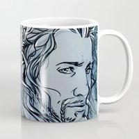fili Mugs featuring The Hobbit - Fili by lorna-ka
