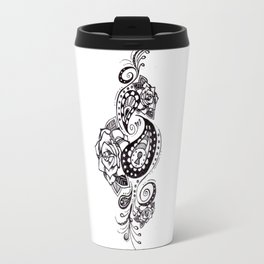 Floral Lock Travel Mug