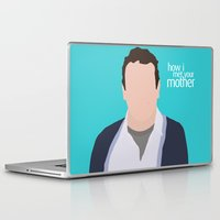himym Laptop & iPad Skins featuring Marshall Ericksen HIMYM by Rosaura Grant