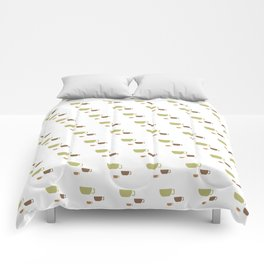 CUP PATTERN Comforters