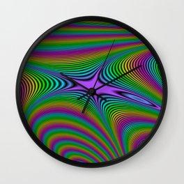 Fractal Spectrum Wall Clock