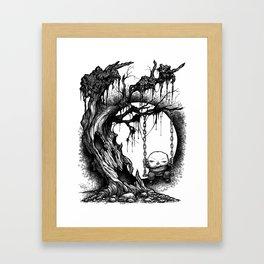 Tree Swing Framed Art Print