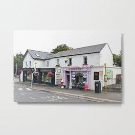 Sugar and Ice cream Shop in Enniskerry - Ireland Metal Print