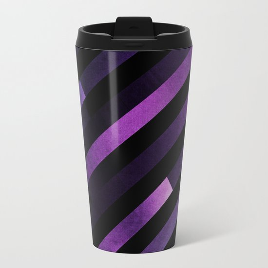 Pattern 2 Metal Travel Mug