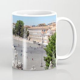 Piazza del Popolo from the Pincio Terrace - Rome, Italy Coffee Mug
