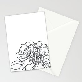 Paper-cut Peony Stationery Cards