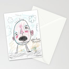 Attention Please Stationery Cards