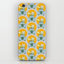 Frenchie's summer road trip iPhone Skin