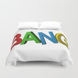 Colorful bang Duvet Cover
