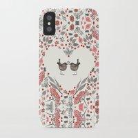 wesley bird iPhone & iPod Cases featuring BIRD by Monika Strigel