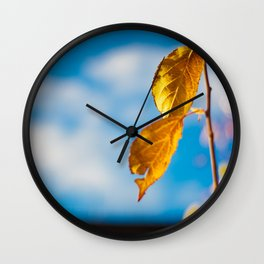 Catchy Autumn Wall Clock