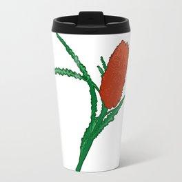 Banksia Illustration - Australian Native Florals Travel Mug