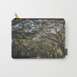 Wormsloe Live Oak Avenue - Savannah II Carry-All Pouch