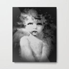 Angel Child Gothic Metal Print