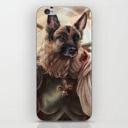 Joan of Bark iPhone Skin