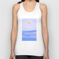 calm Tank Tops featuring Calm by lillianhibiscus